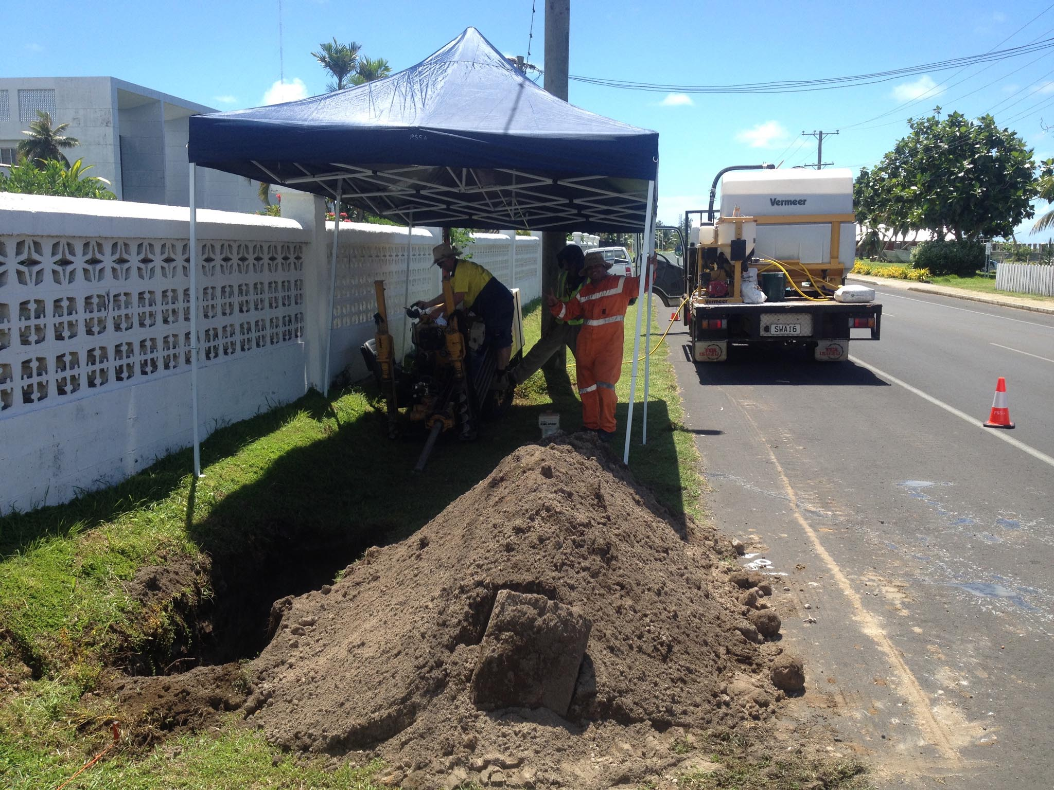 sewer installation and design and construction