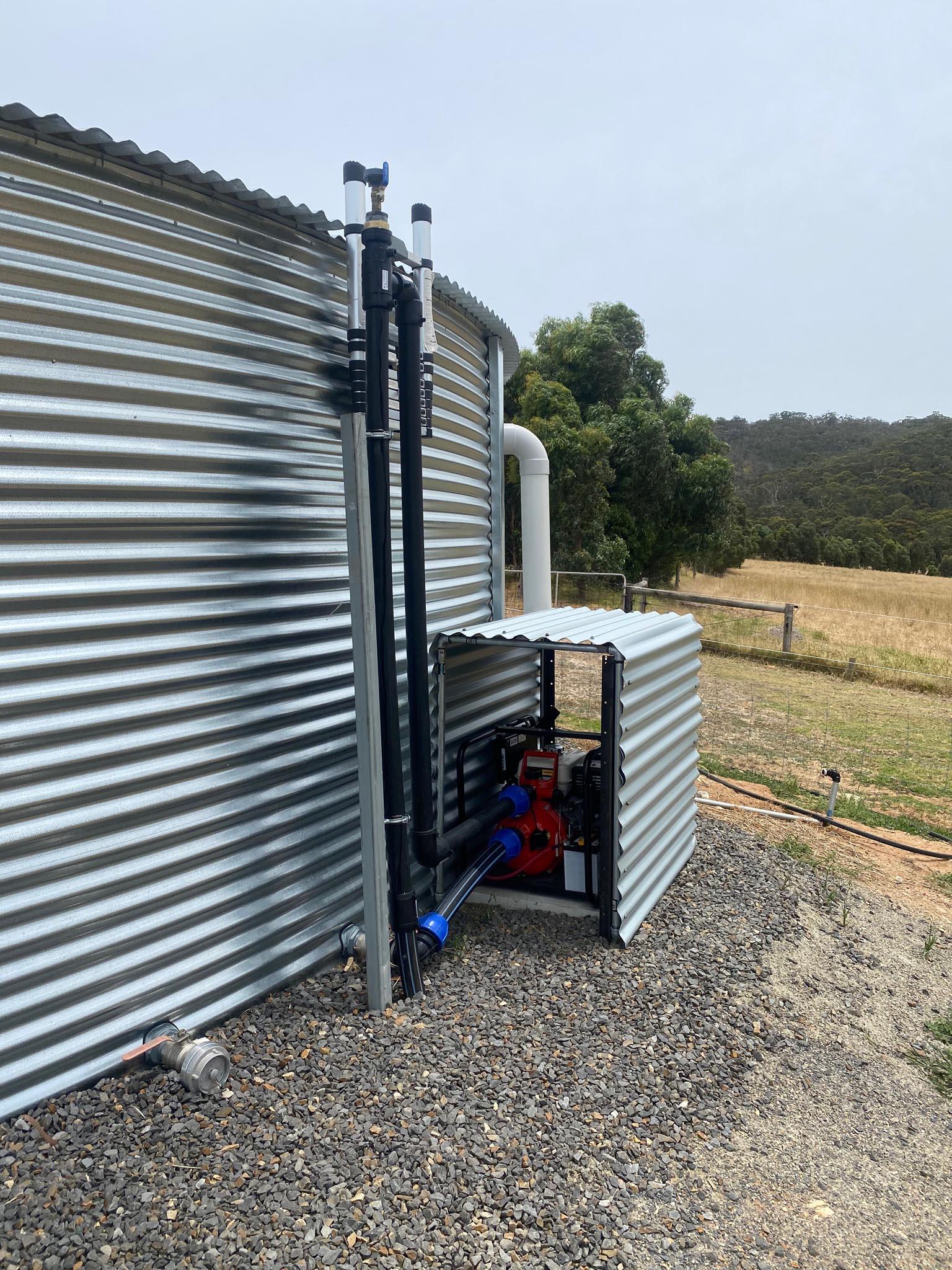 Bushfire Sprinkler System Plumber in Griffith NSW