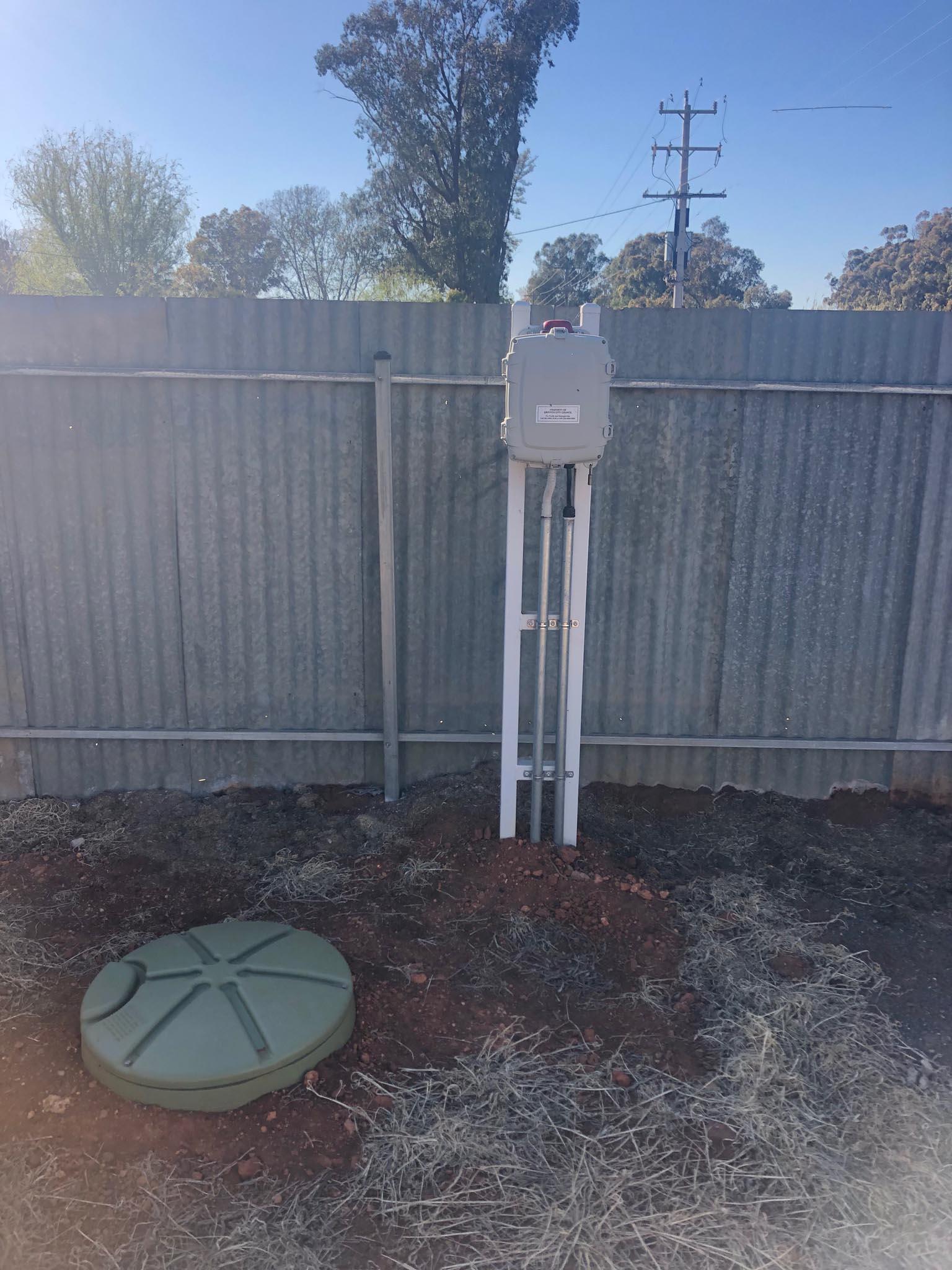 Sewer system installation