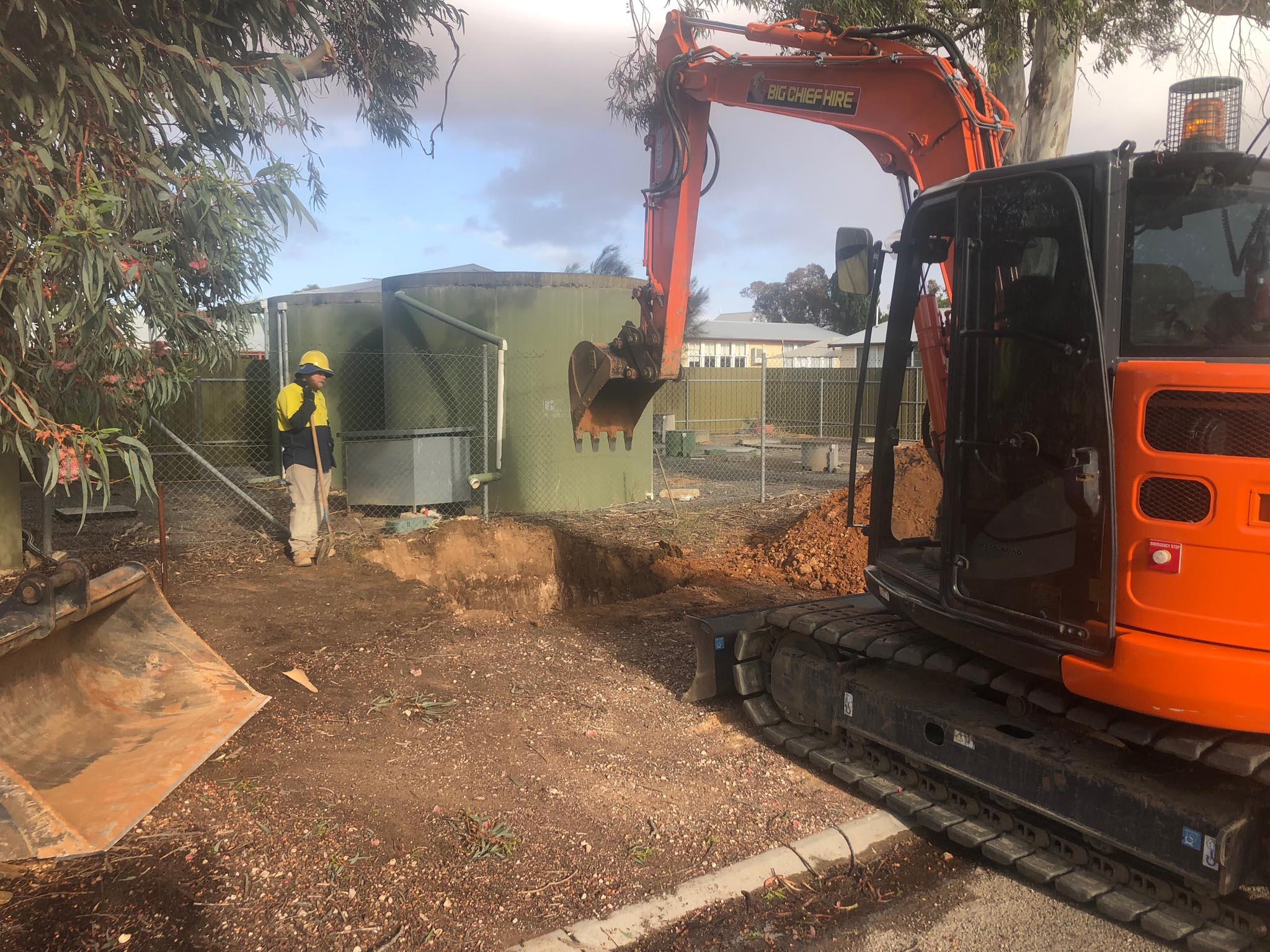 Sewer pump station installation in NSW