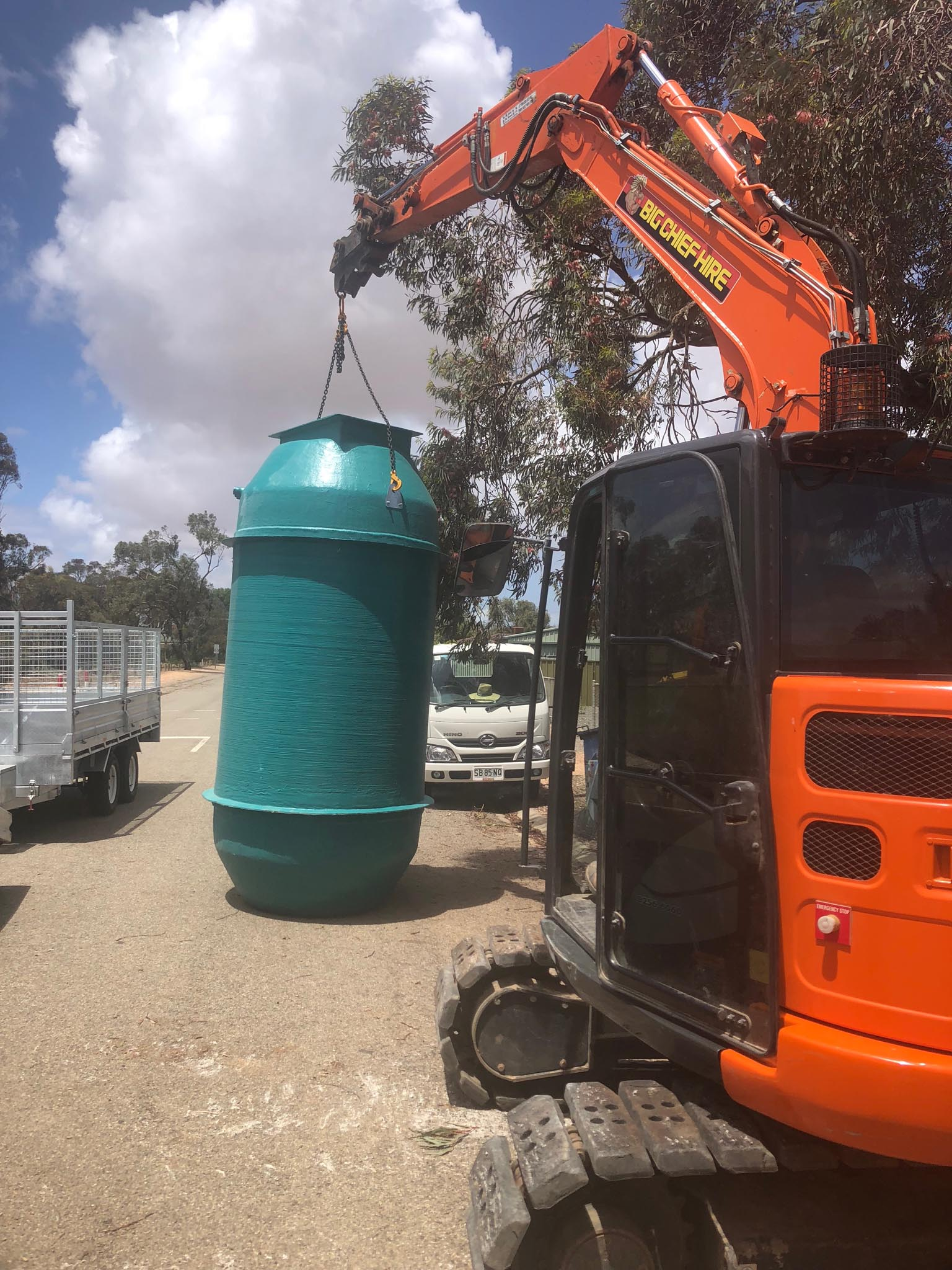 Sewer pump station installation in SA