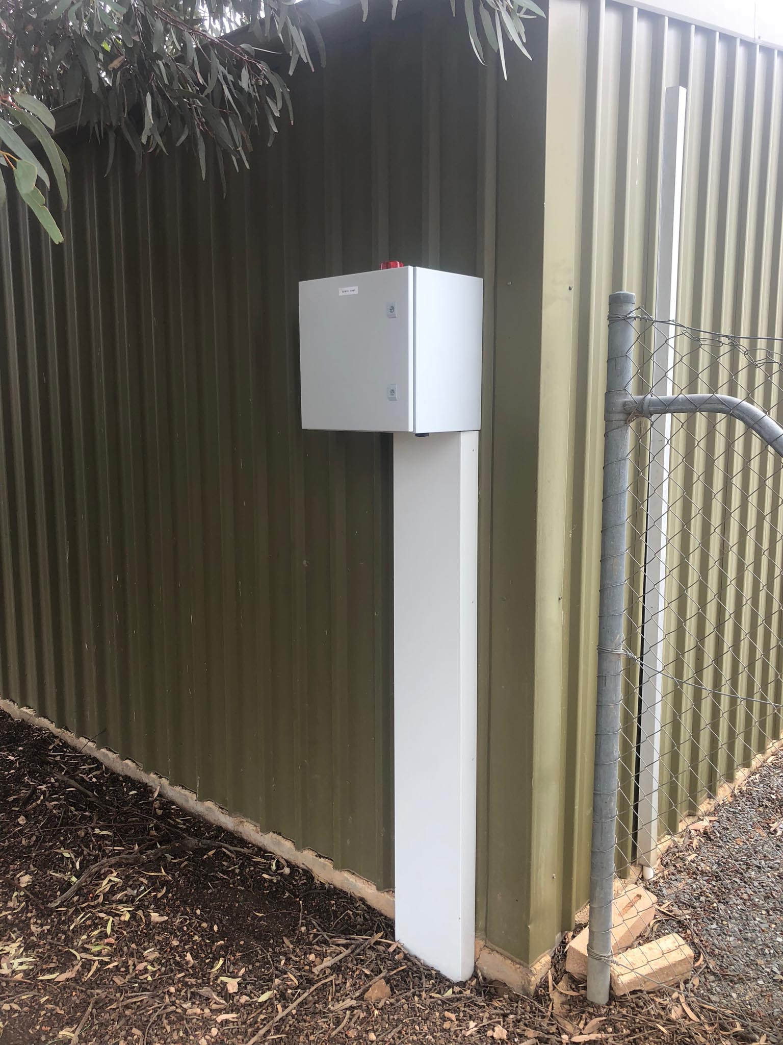 Sewer pump station design in NSW