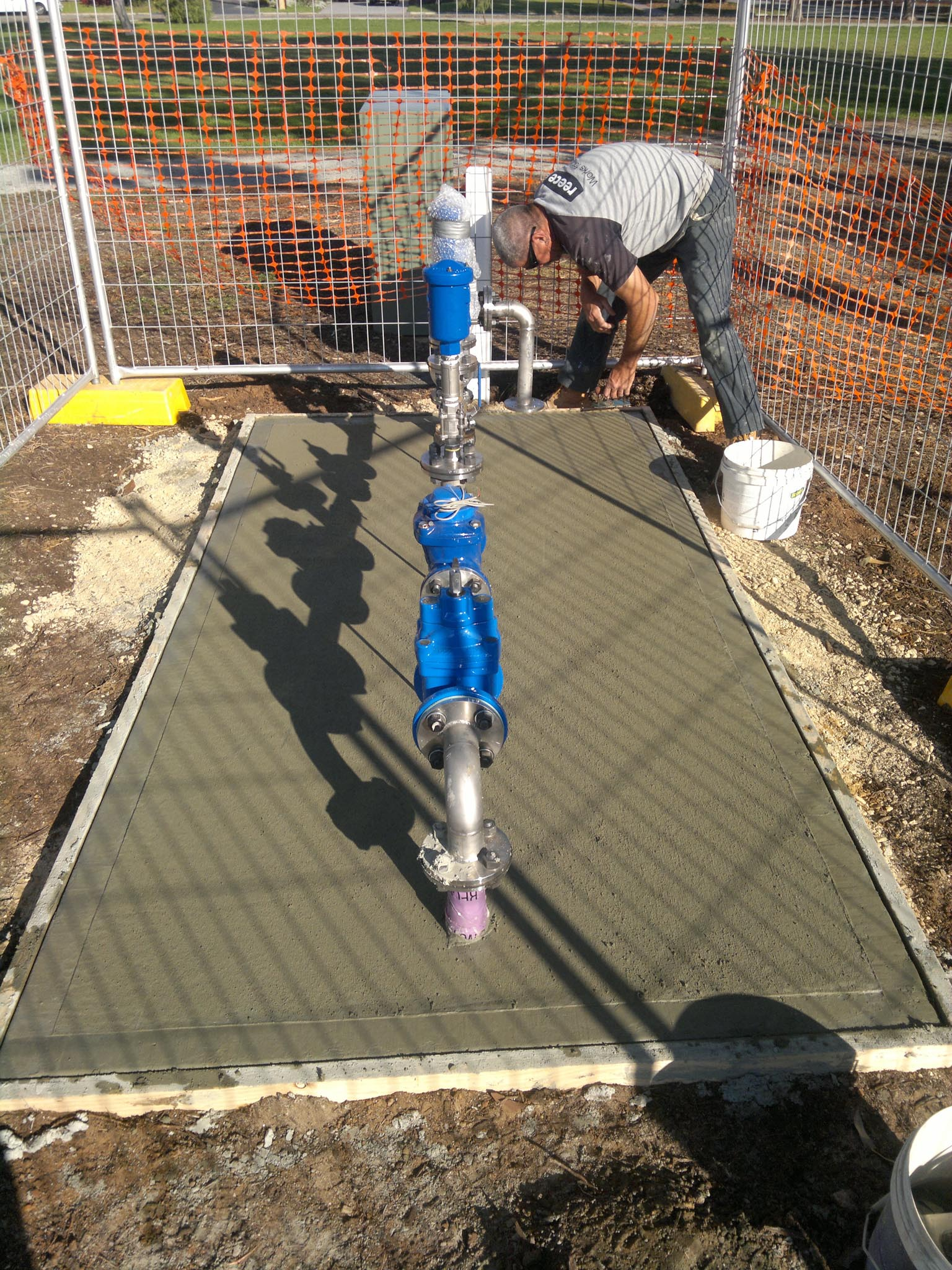 recycled water system for council