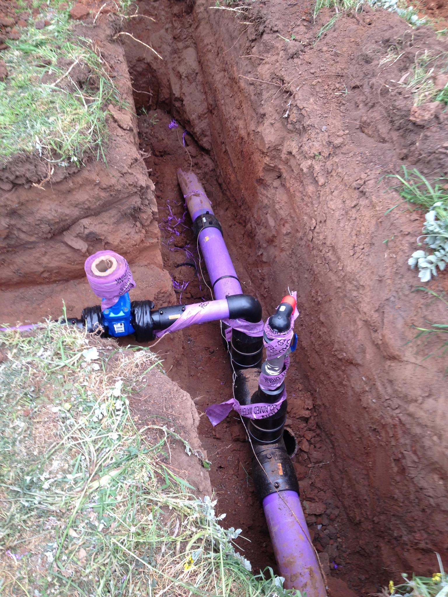 recycled water system maintenance